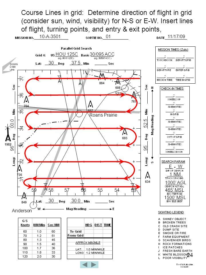 24 10-A-35010111/17/09 HOU 125C30/095 ACC 3037.5 3030.0 96 00.0 95 52.5 Roans Prairie.