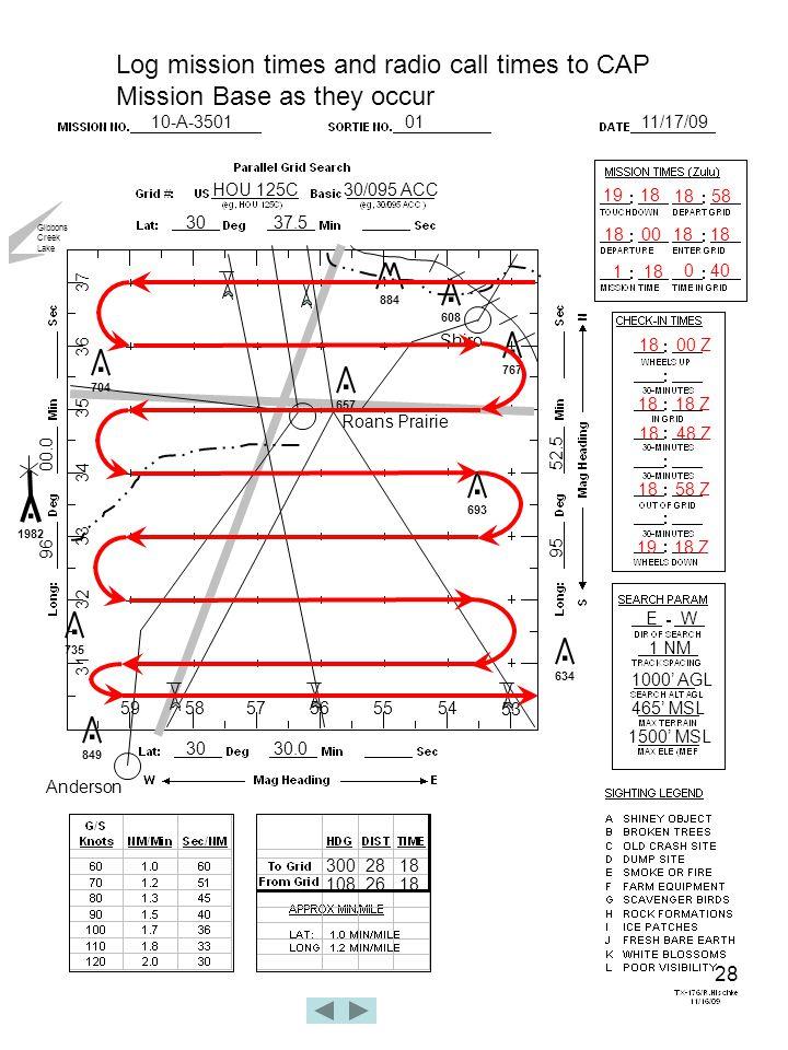 28 10-A-35010111/17/09 HOU 125C30/095 ACC 3037.5 3030.0 96 00.0 95 52.5 Roans Prairie.