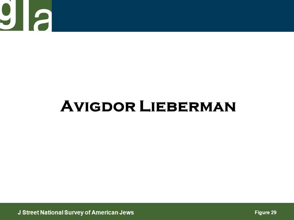Figure 29 Avigdor Lieberman J Street National Survey of American Jews