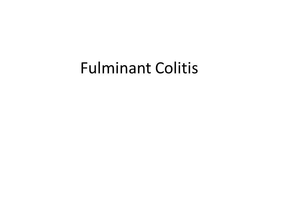 Fulminant Colitis