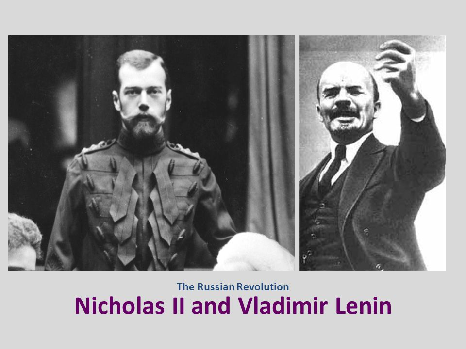 October Revolution of 1917 Russia needed to end its involvement in World War I and provide land reforms… On October 24 th, 1917: The Bolsheviks overthrew the Provisional Government Vladimir LeninLeon Trotsky