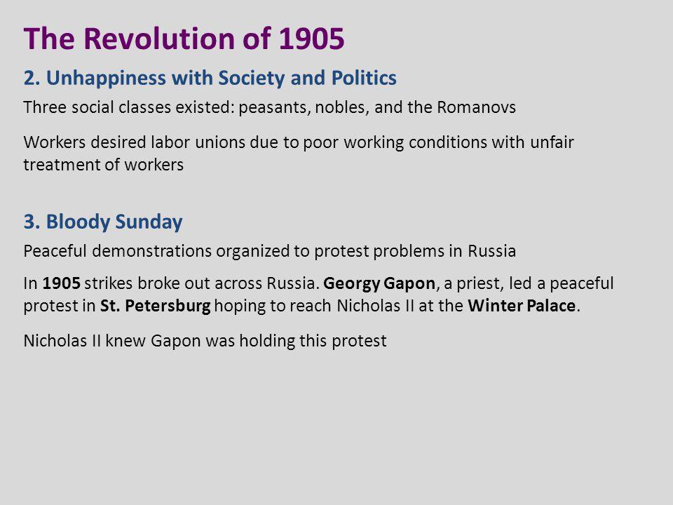 The Revolution of 1905 2.