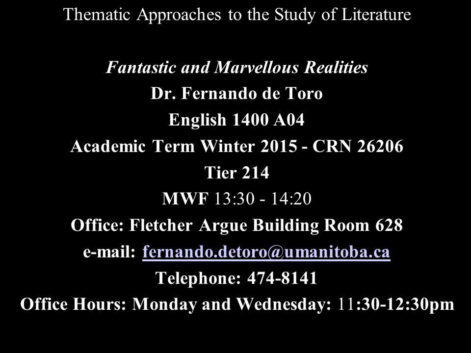  V.Reading Schedule April 3: Malouf, David. (1999).
