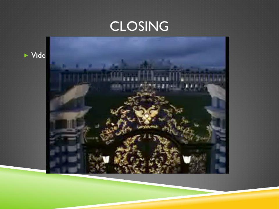 CLOSING  Video