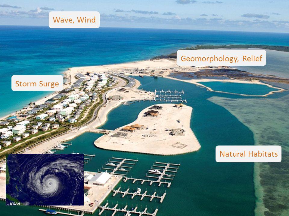 SaveGuanaCayReef NOAA Geomorphology, Relief Natural Habitats Wave, Wind Storm Surge