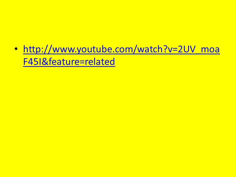 http://www.youtube.com/watch?v=2UV_moa F45I&feature=related http://www.youtube.com/watch?v=2UV_moa F45I&feature=related