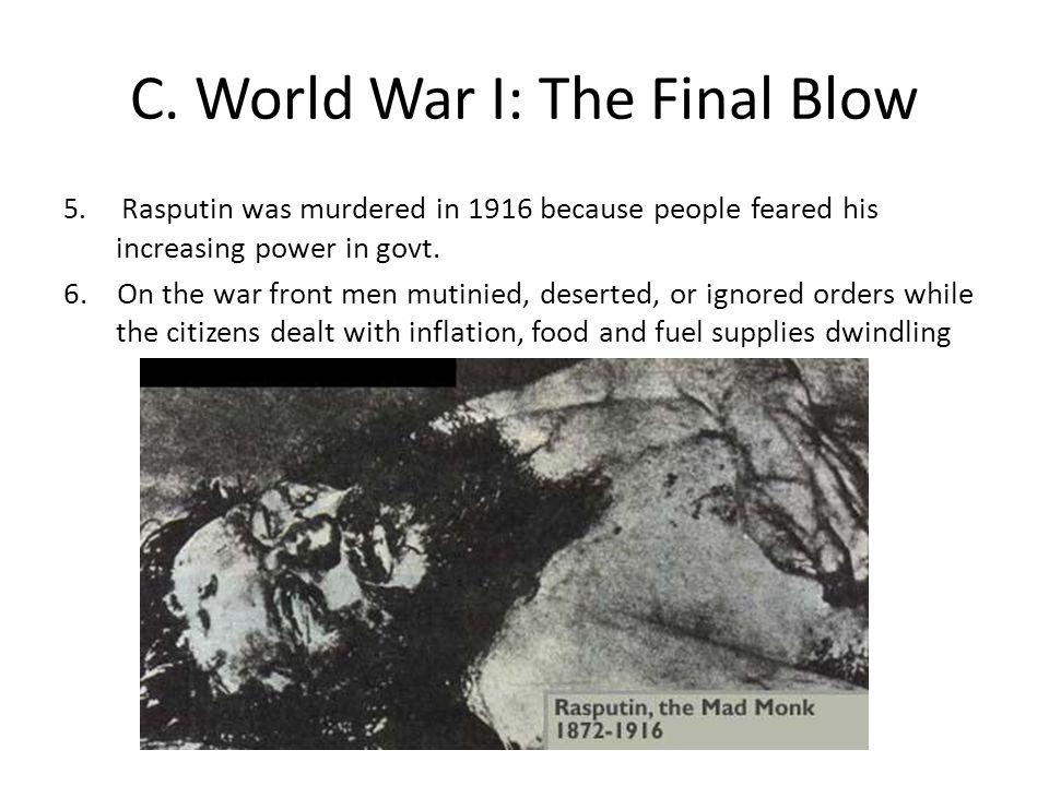 C.World War I: The Final Blow 5.