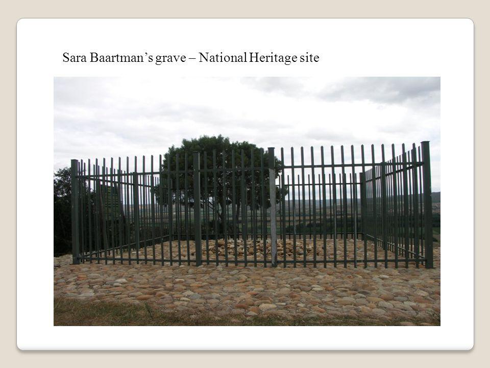 Sara Baartman's grave – National Heritage site