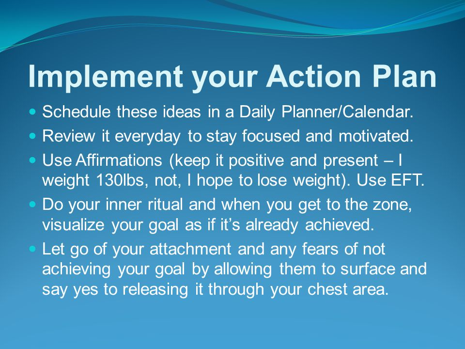 How To Achieve Goals 6.
