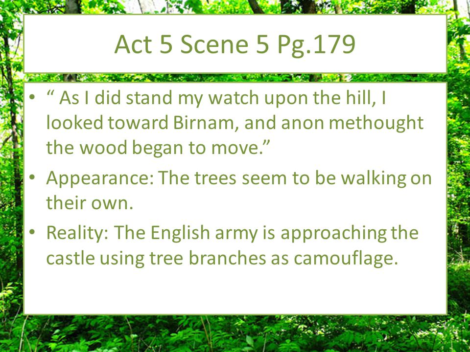 """Act 4 Scene 3 Pg. 143 """" Black Macbeth will seem pure as snow, and the poor state esteem him as a lamb, being compared with my confine less harms."""" App"""
