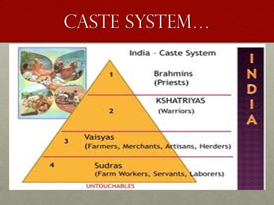 Caste System…