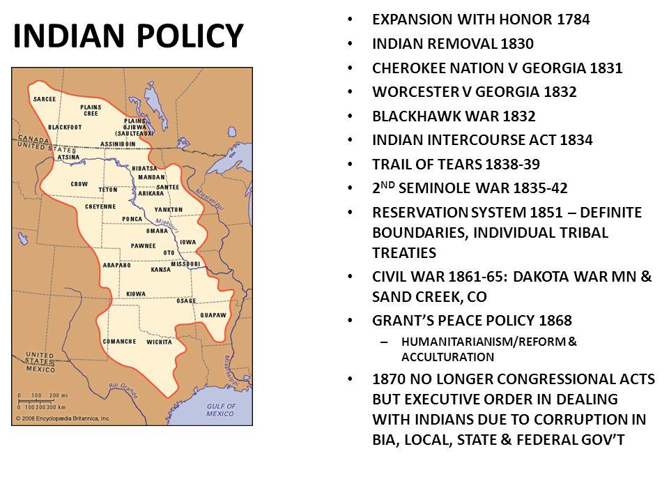 INDIAN WARS 1870-1890'S ABOLISH TREATY MAKING SO.