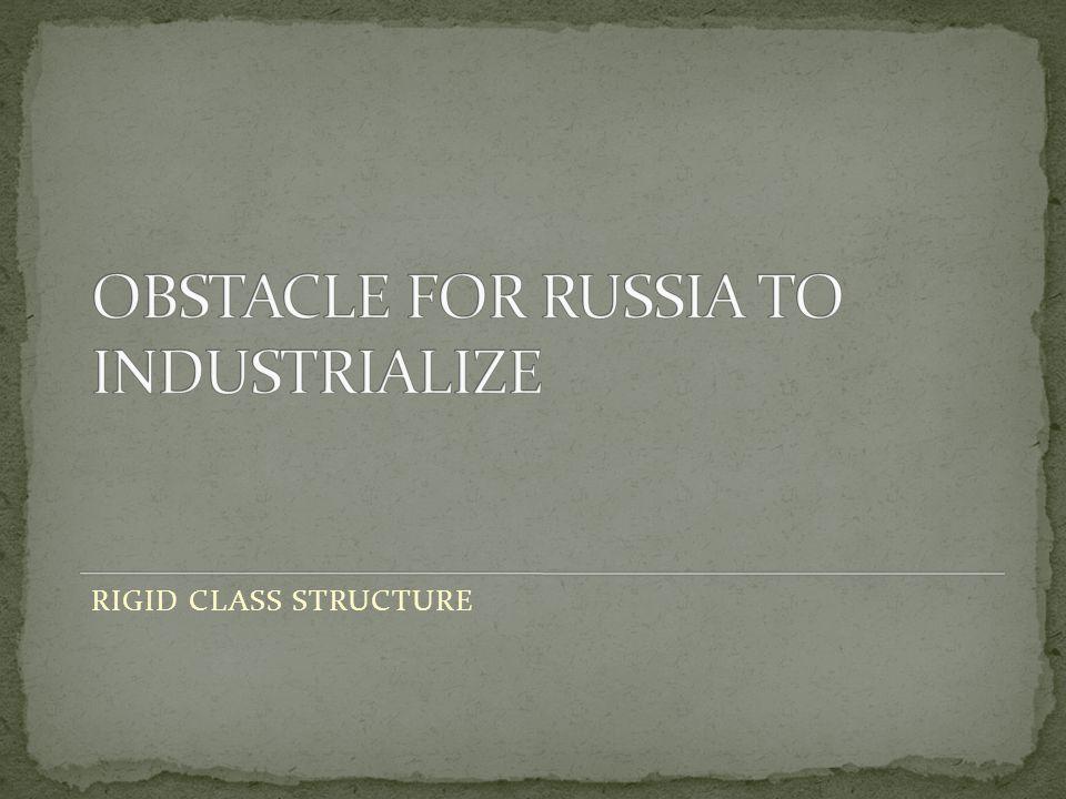 RIGID CLASS STRUCTURE