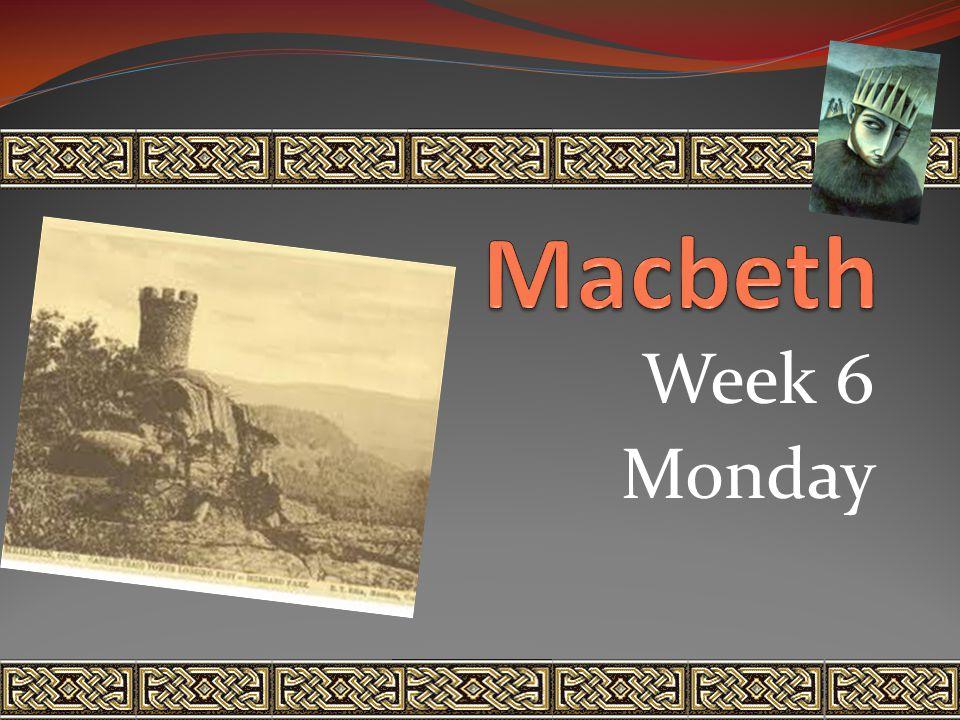 Week 6 Monday