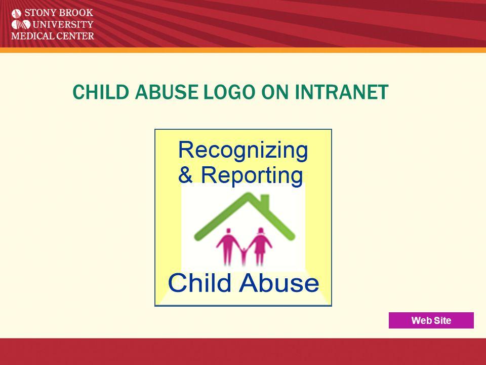 CHILD ABUSE LOGO ON INTRANET Web Site