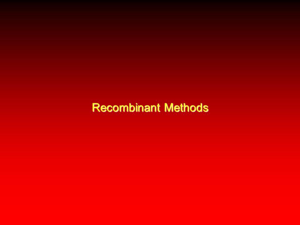 Recombinant Methods