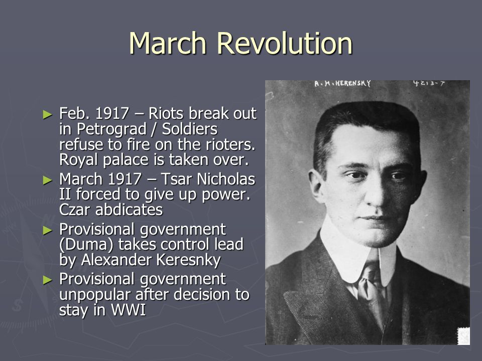 March Revolution ► Feb.