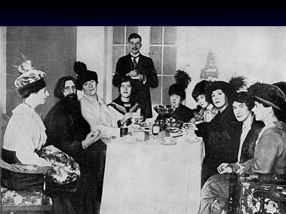 Rasputin with Admirers