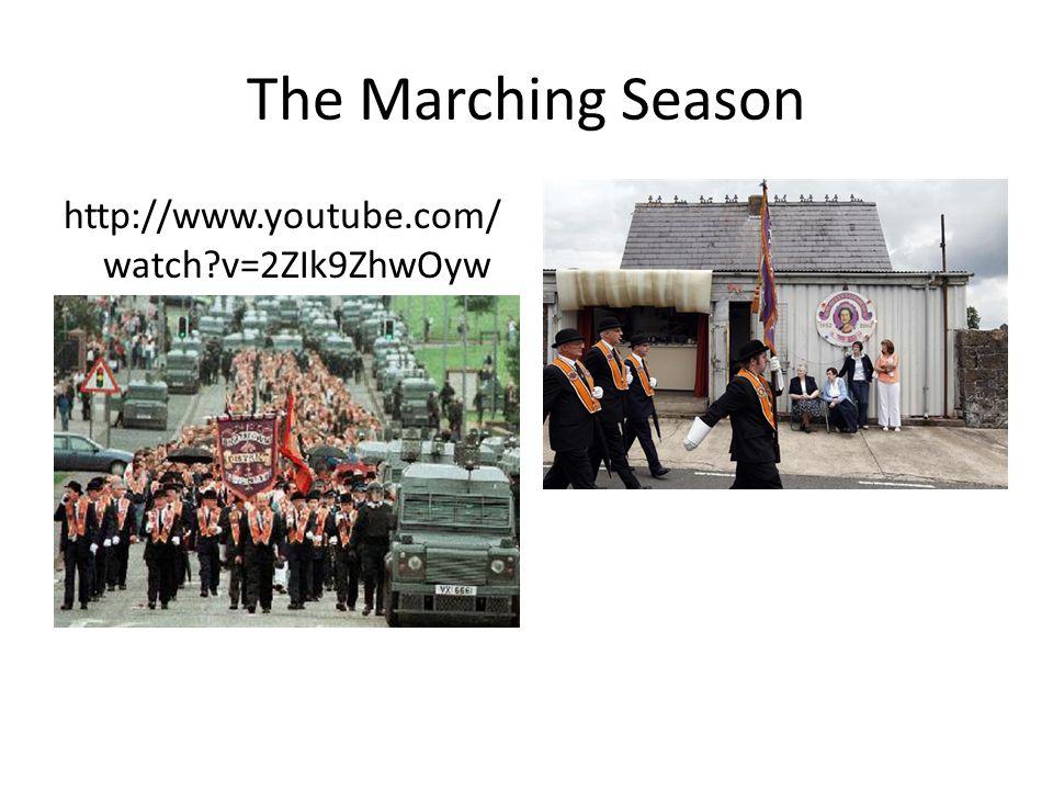 The Marching Season http://www.youtube.com/ watch?v=2ZIk9ZhwOyw