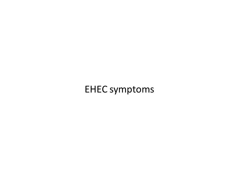 EHEC symptoms