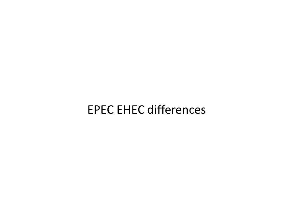 EPEC EHEC differences