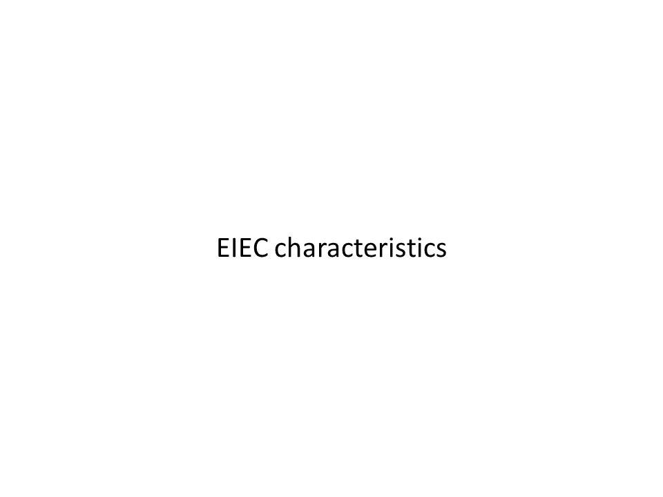 EIEC characteristics