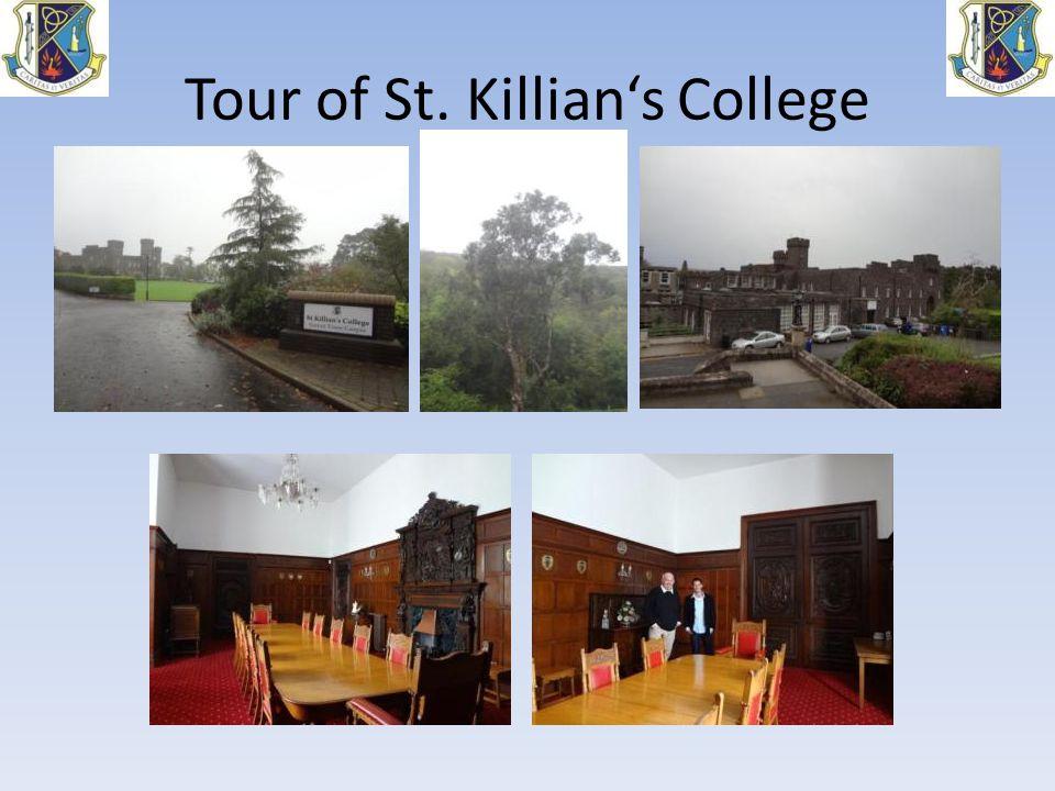 Tour of St. Killian's College