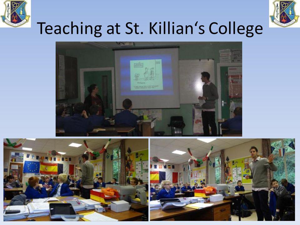 Teaching at St. Killian's College
