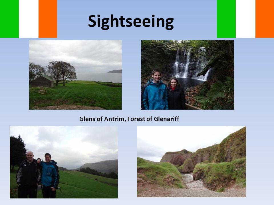 Sightseeing Glens of Antrim, Forest of Glenariff