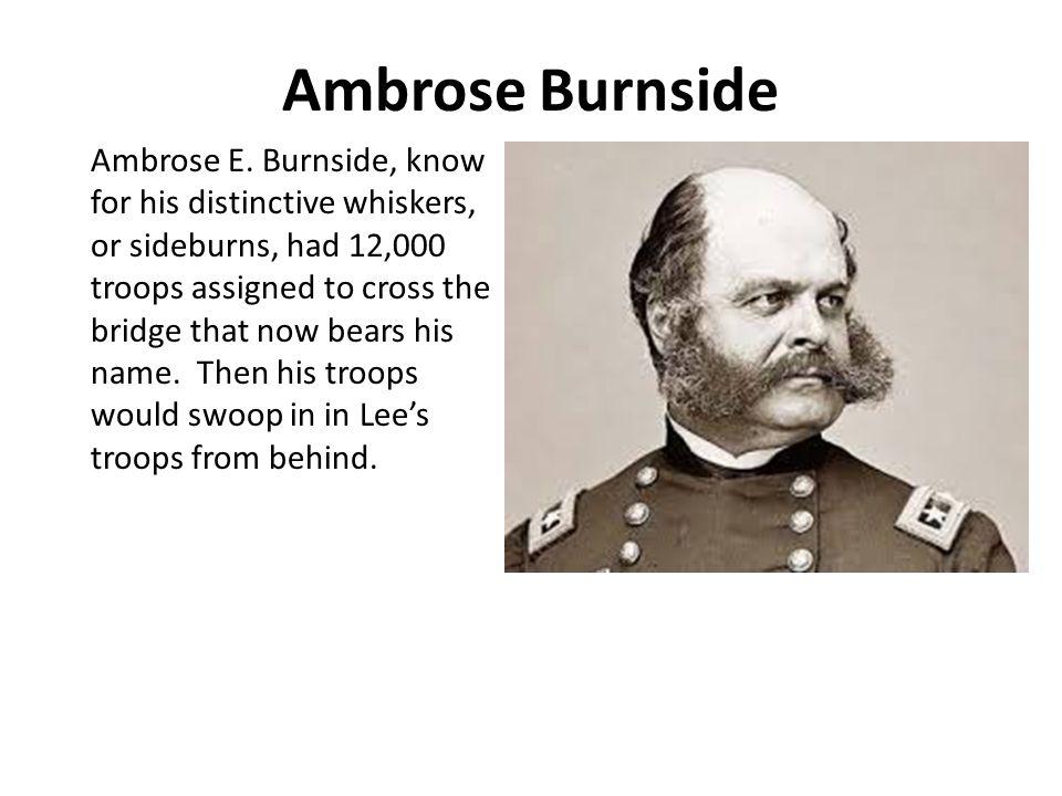 Ambrose Burnside Ambrose E.