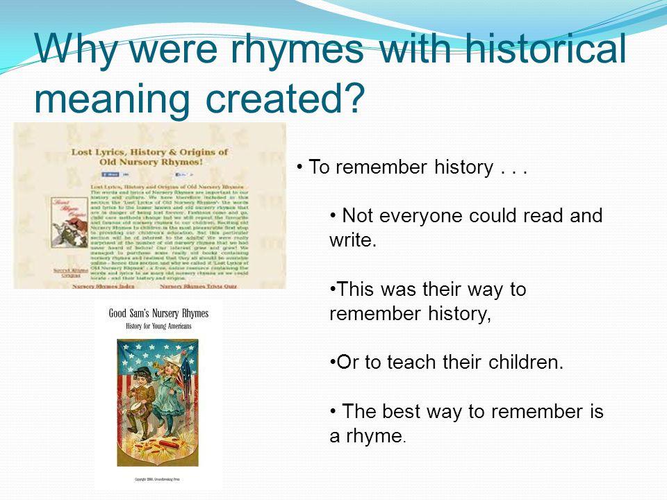 Georgie Porgie This rhyme's historical period was around 1592-1628.