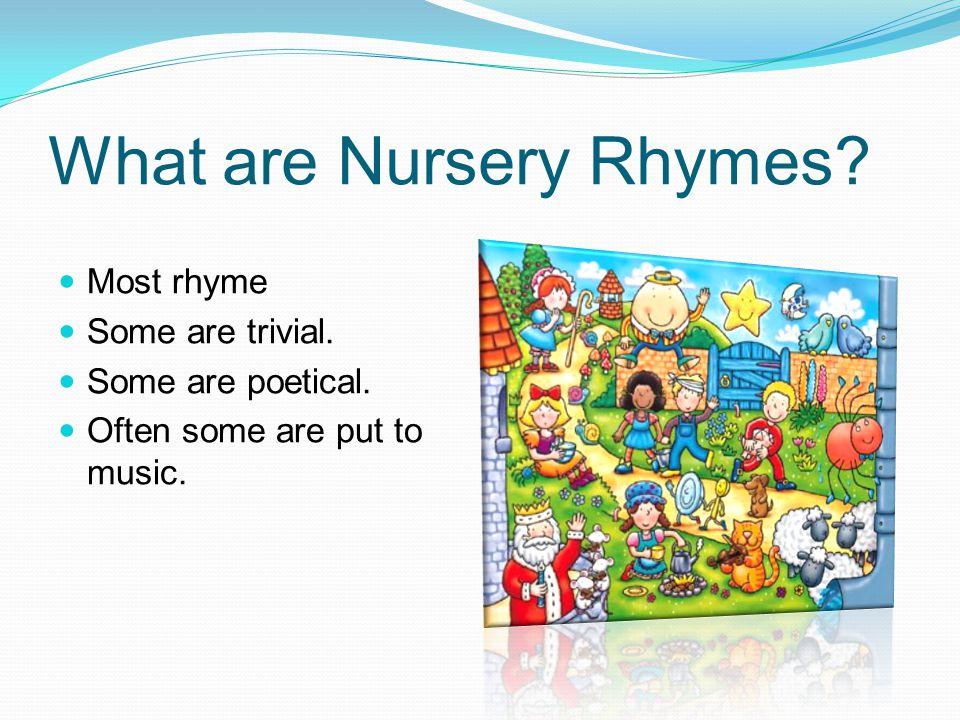 Nursery rhymes set to music Mary Had a Little Lamb Hey Diddle Diddle Baa Baa Black Sheep
