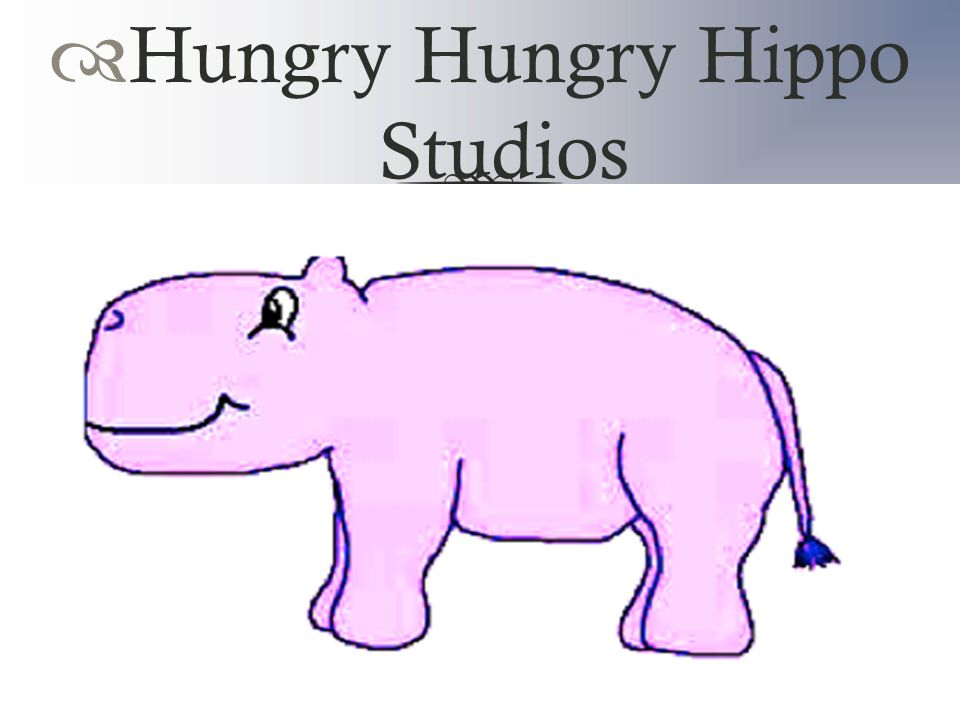  Hungry Hungry Hippo Studios