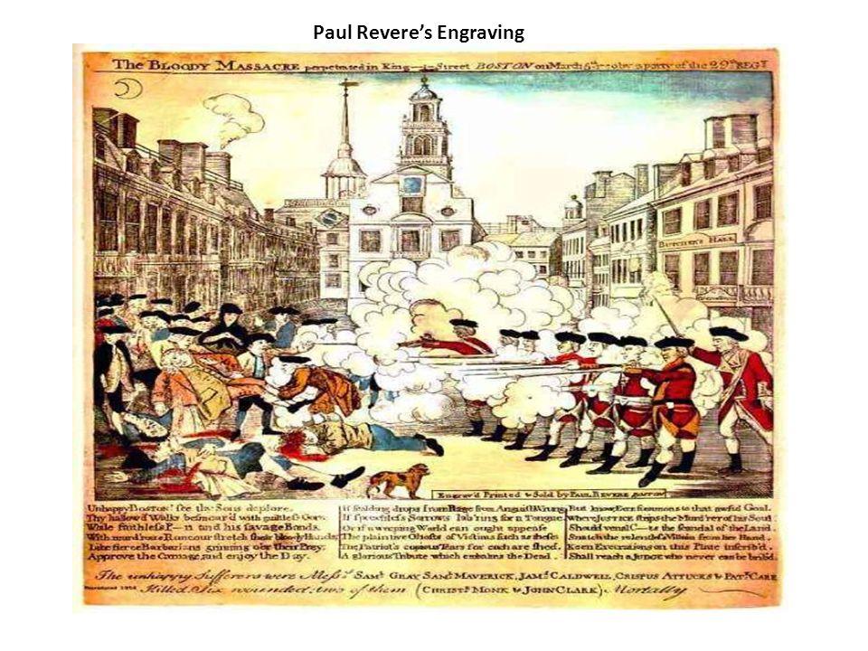 Paul Revere's Engraving
