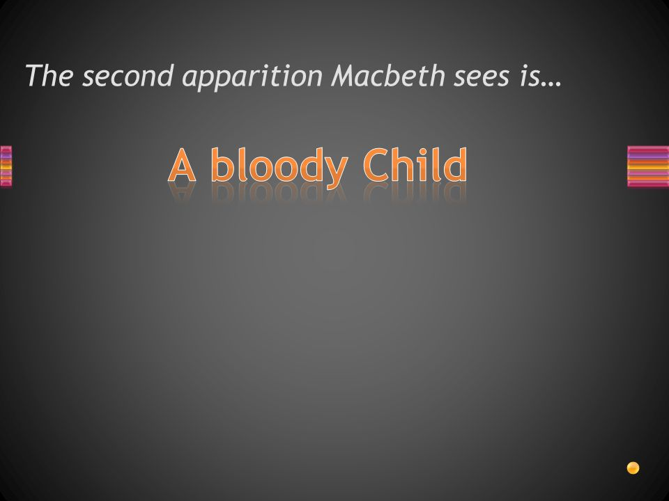 The second apparition Macbeth sees is…