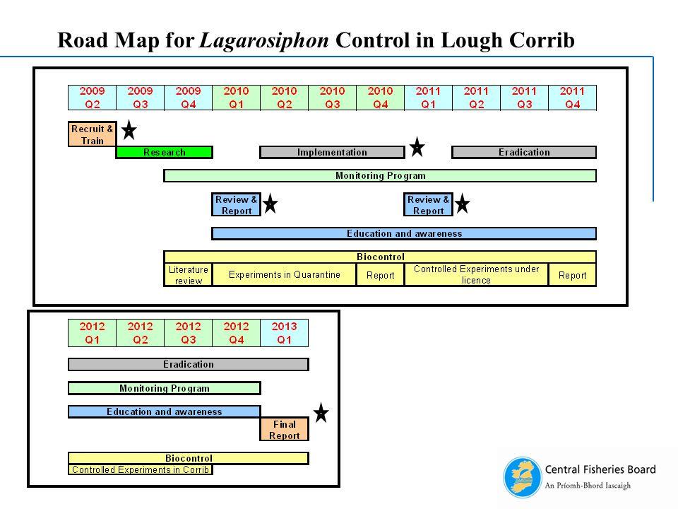 Road Map for Lagarosiphon Control in Lough Corrib