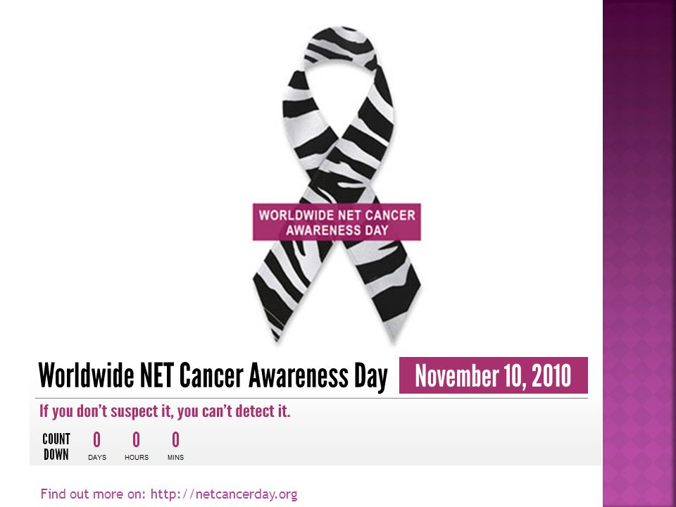 Find out more on: http://netcancerday.org