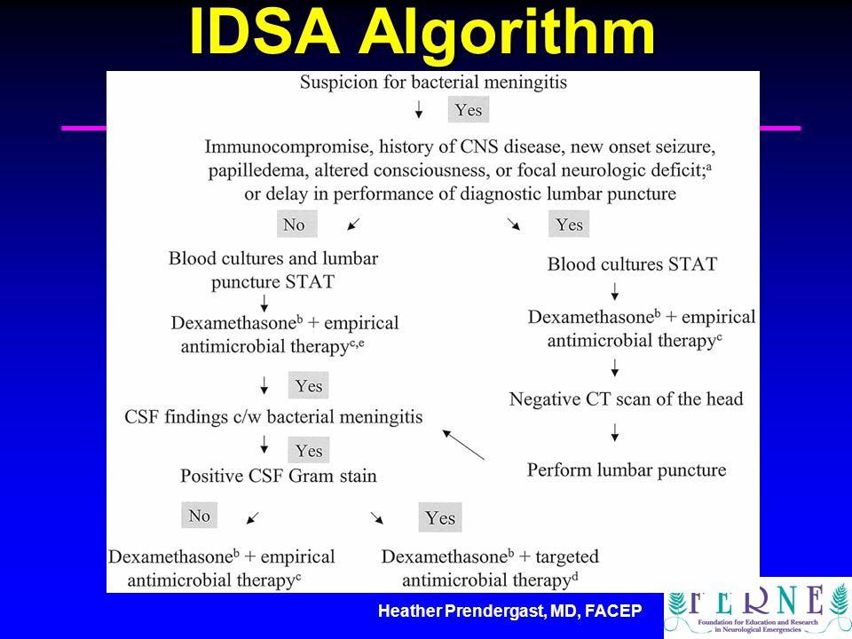 Heather Prendergast, MD, FACEP IDSA Algorithm