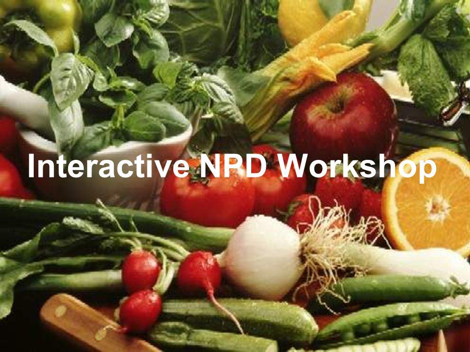 10 Interactive NPD Workshop