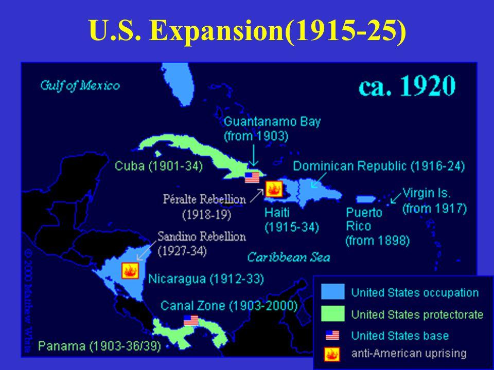 U.S. Expansion(1915-25)