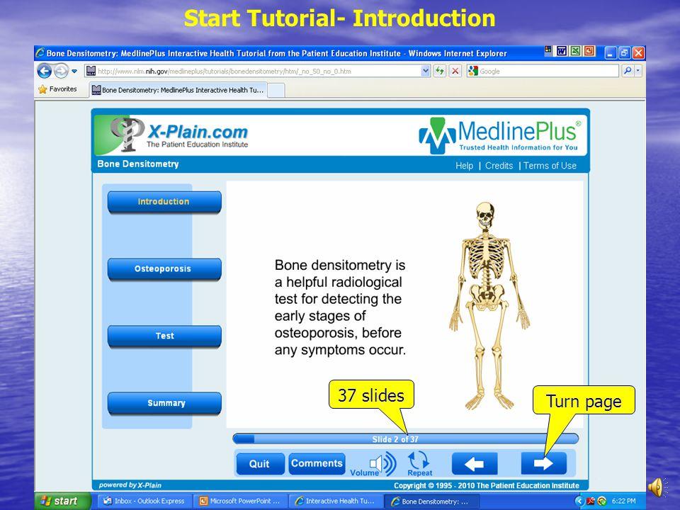 Sample: Bone Densitometry