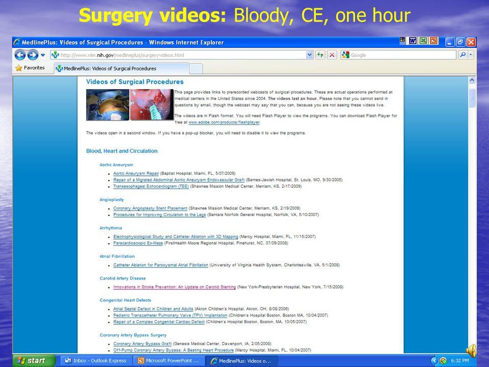 Sample: Kidney Stones fm ADAM