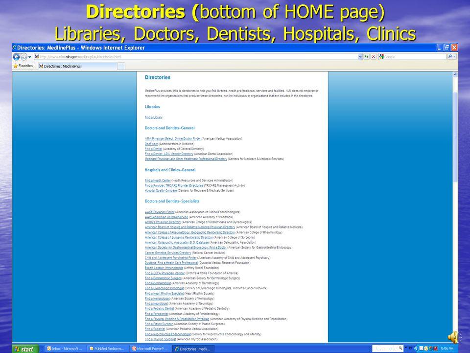 Contacts, locations, INVESTIGATORS Principal Investigators: Look up in PubMed 1 2 3 4