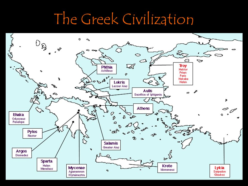 The Literature of Antiquity The Greeks and the Iliad