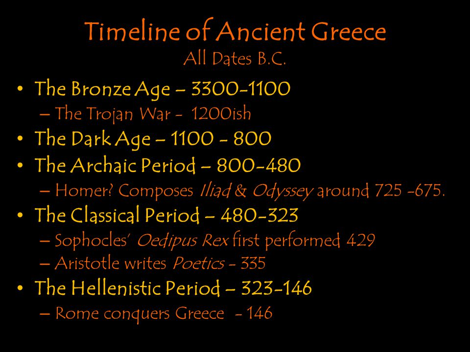 The Greek Civilization
