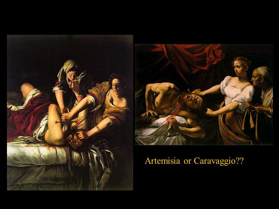 Artemisia or Caravaggio??