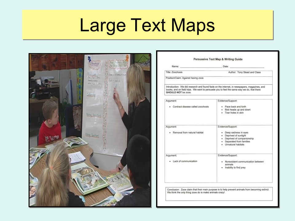 Large Text Maps