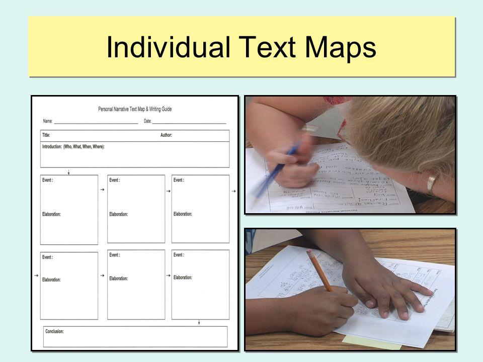 Individual Text Maps