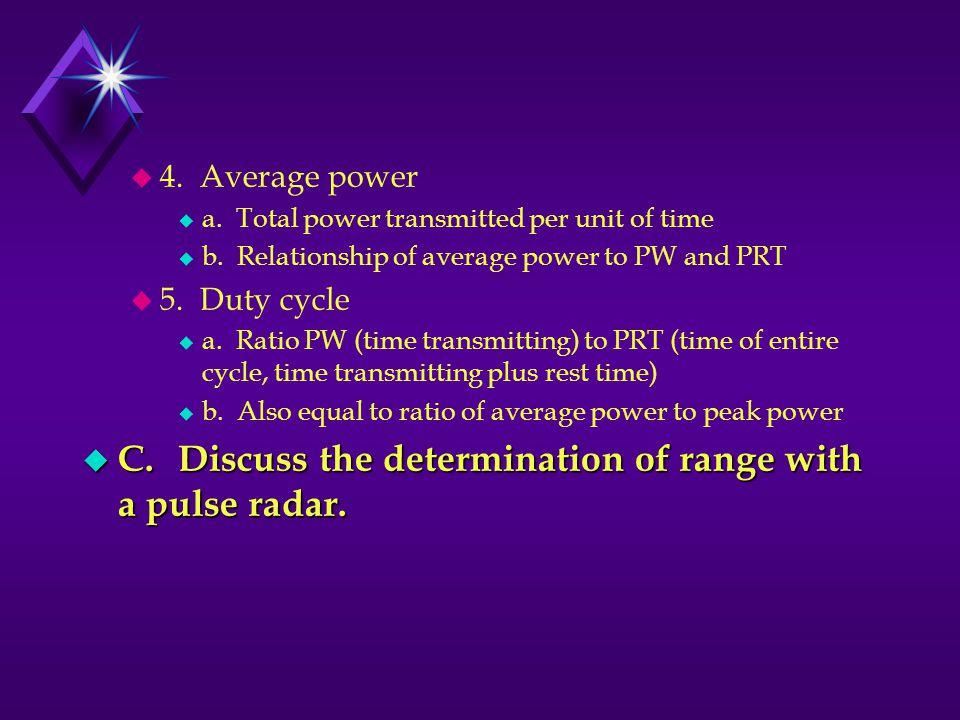 u 4.Average power u a. Total power transmitted per unit of time u b.