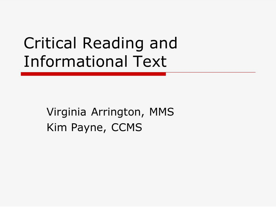 Objectives  Evaluate the importance of text complexity  Learn how student motivation and reading achievement are linked  Synthesize new ideas into classroom practice